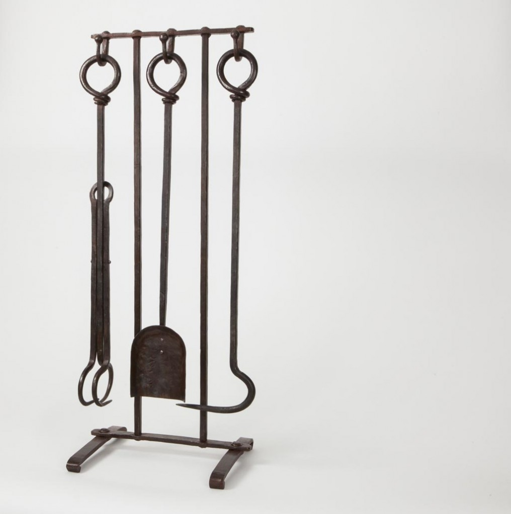 loop handle fireplace tool set llmetalworks